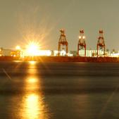 青海より品川埠頭を臨む