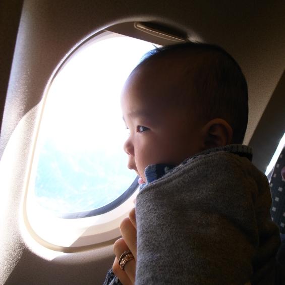 息子よ初めての空に何を見る?